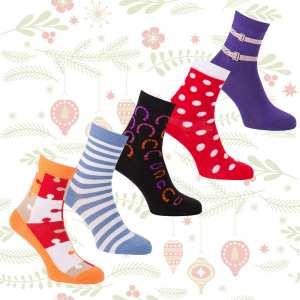 KozySocks short socks Christmas Pack
