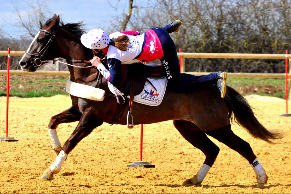Championne Pony Games Océane Déambrosis Larcher