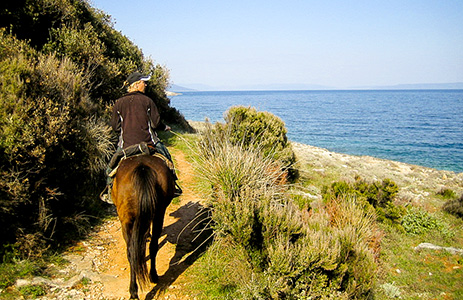 voyage à cheval en croatie