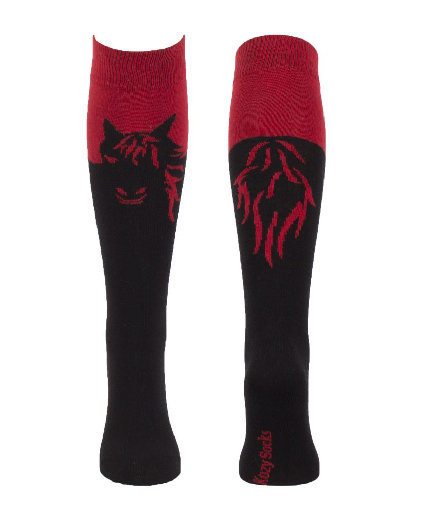 chaussette motif cheval calypso