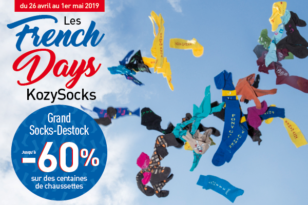 French Days KozySocks