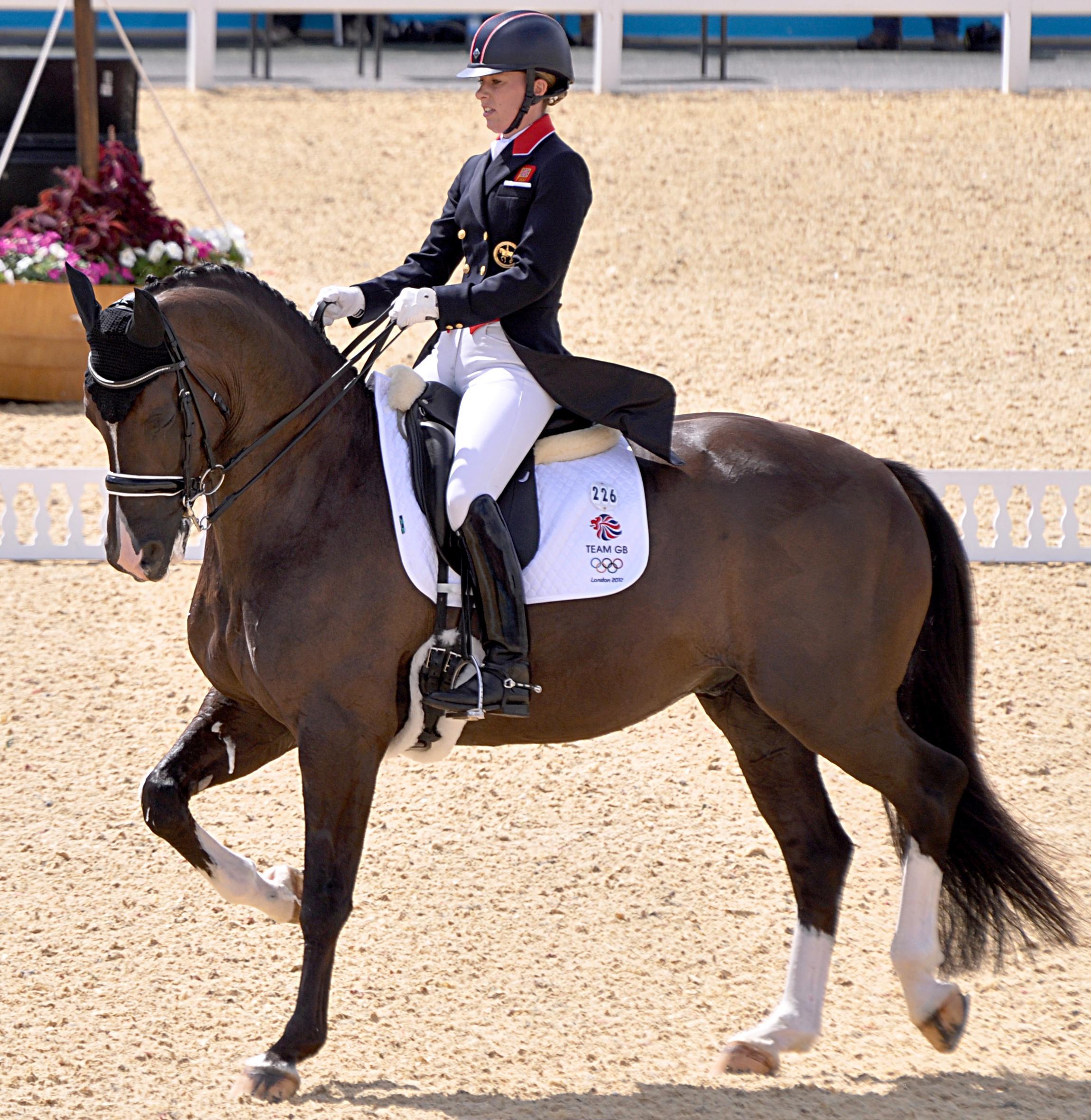 Concours dressage olympique (équitation)